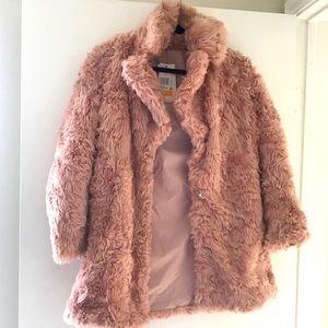 Rose Gold Fur Jacket